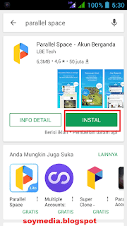 Cara Mudah Menggunakan 2 Whatsapp Dalam 1 HP android
