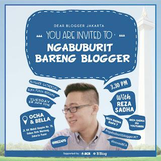 Ngabuburit Blogger Jakarta