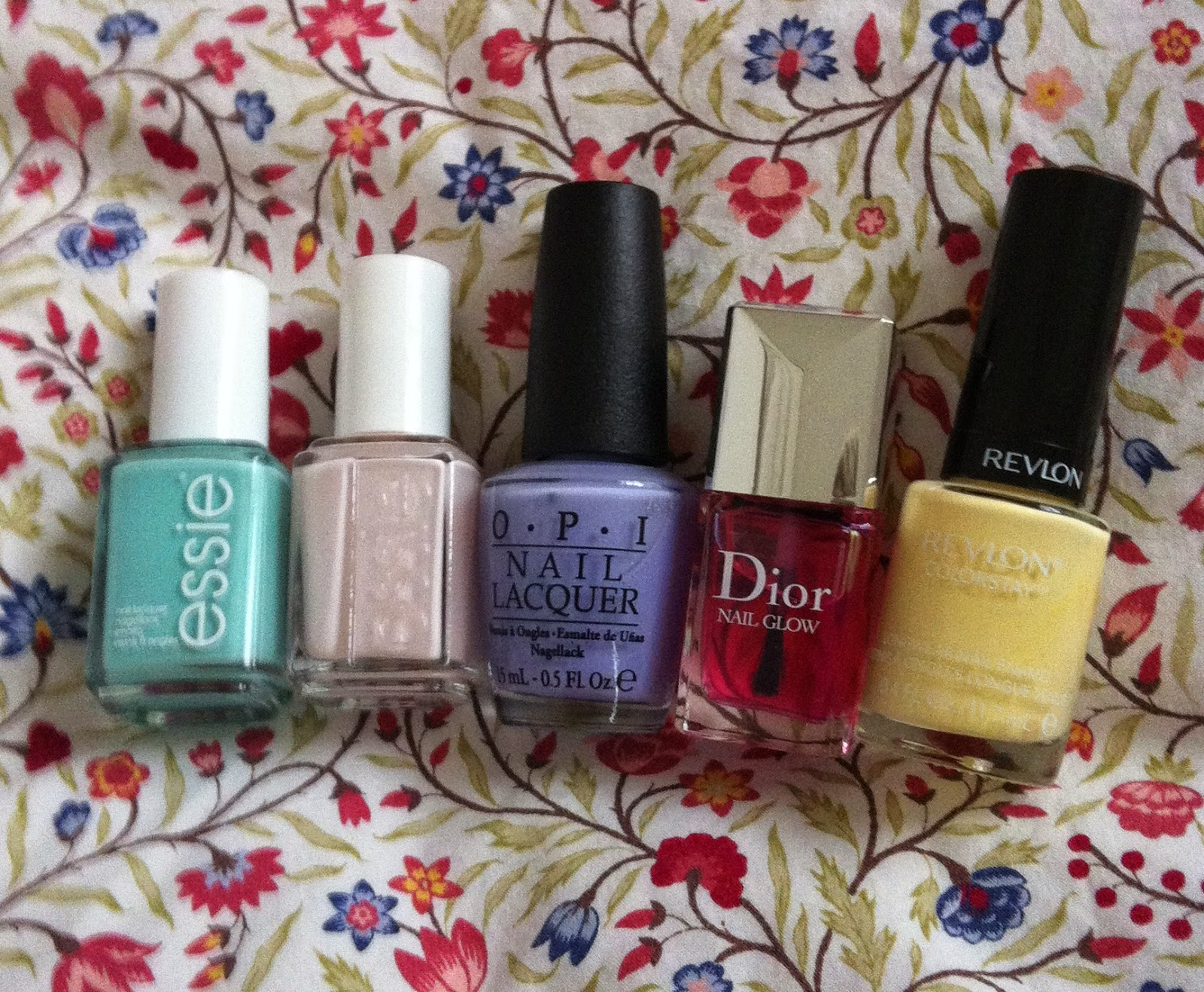 Let Spring Begin: Top 5 Nail Polishes for the Season