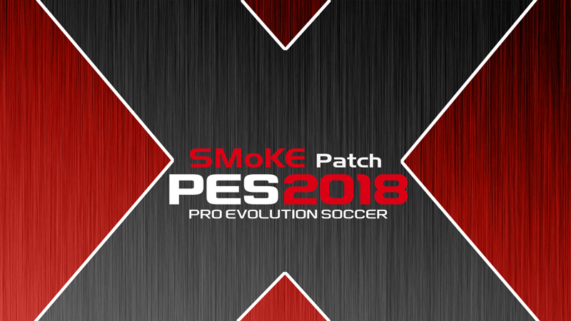 85618f6465f PES SMoKE patch  PES 2018 Smoke patch X14