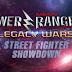 "Lançado o curta-metragem ""Power Rangers Legacy Wars: Street Fighter Showdown"""