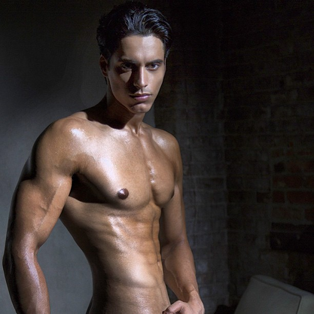 Shirtless Bollywood Men Naked Indian Male Model-7047