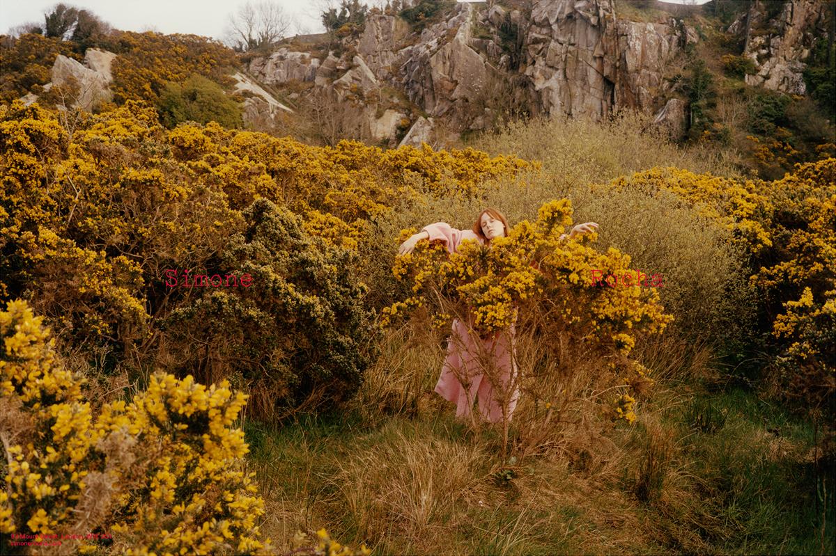 Kiki Willems by Colin Dodgson for Simone Rocha Autumn/Winter 2016 Campaign