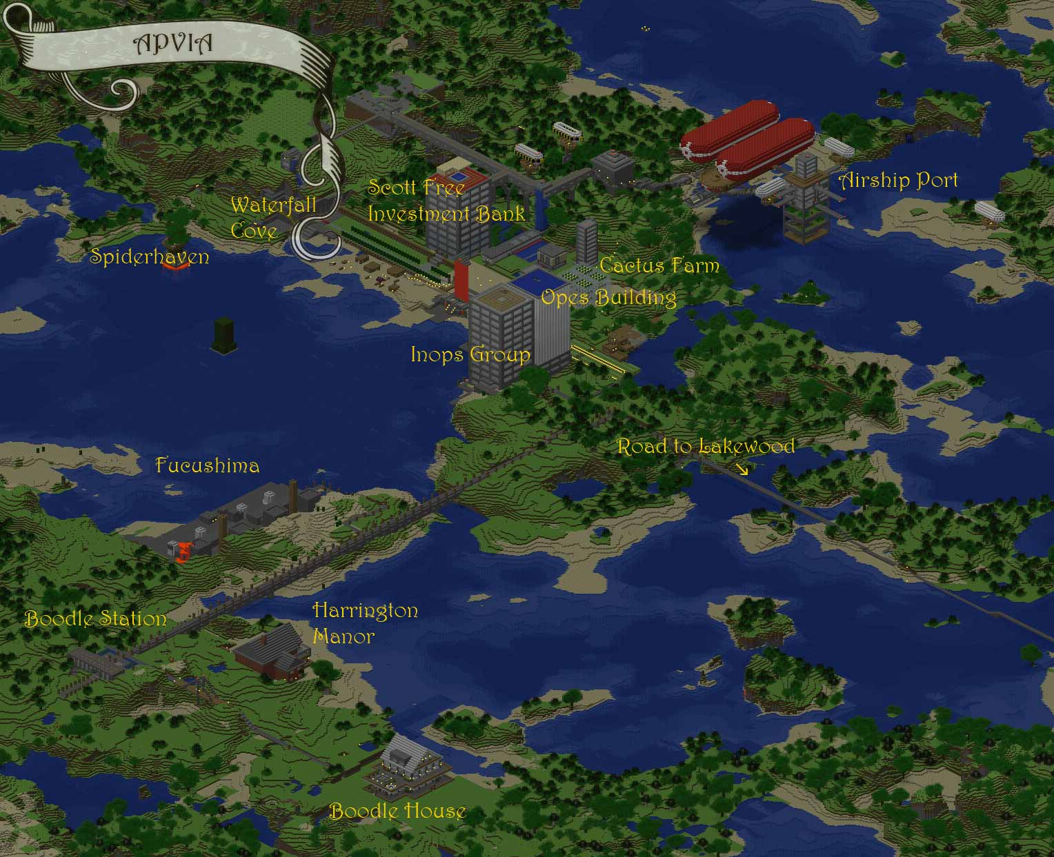 farm map minecraft