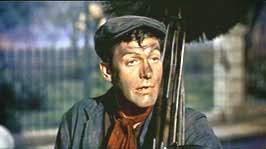 Photo de Dick Van Dyke en ramoneur dans Mary Poppins