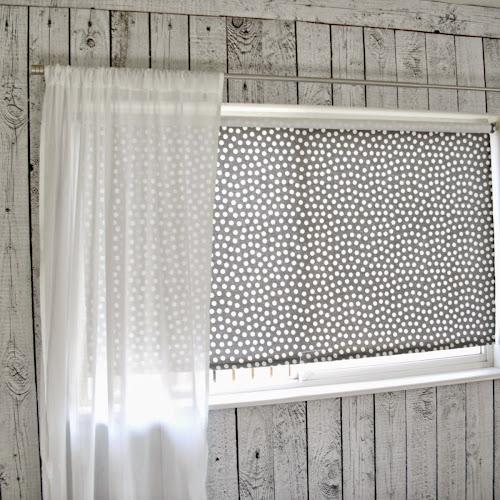 Master Bedroom Redo - Inexpensive Window Coverings