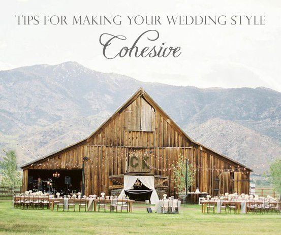 tips for making your wedding style cohesive by oh lovely day