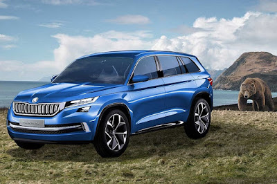 coming 2017 Skoda Kodiaq SUV vision s concept Hd Pictures 01
