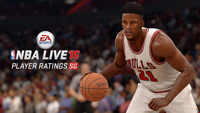 NBA Live 16 Top 6 Shooting Guards (ratings)
