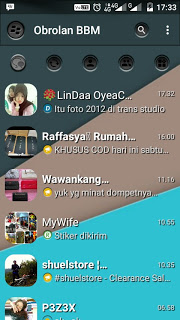 BBM Dark Shade Of Grey V3.0.1.25 Terbaru Free download