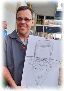 caricaturista para evento no cabo