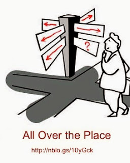 Meaning of Idiom: All Over the Place