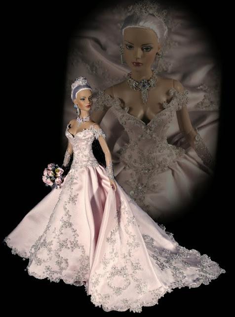 Vestidos de noiva para Barbie - Bridal dresses for barbie dolls - Para inspirar nossas criações 8