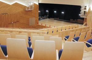 長野市芸術館舞台見えない座席改修