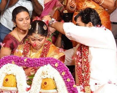 Karthi and Ranjani rituals