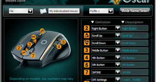 Download Driver Mouse X7 Oscar Editor 5 Mode By A4Tech