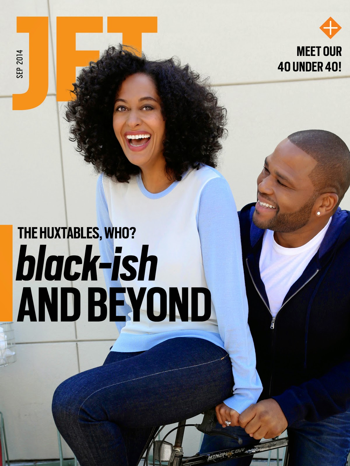 JET Magazine Celebrates the Presence of the Black Family on Network Television and Salutes the 40 Under 40 via www.Productreviewmom.com