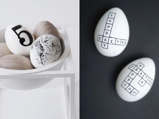 scandinavian easter inspiration, nordic easter, neutral easter decoration, diy easter eggs, scandinavian interior via http://www.scandinavianlovesong.com/