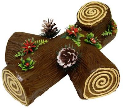 Bûche de Noël hagyományos francia karácsonyi sütemény!