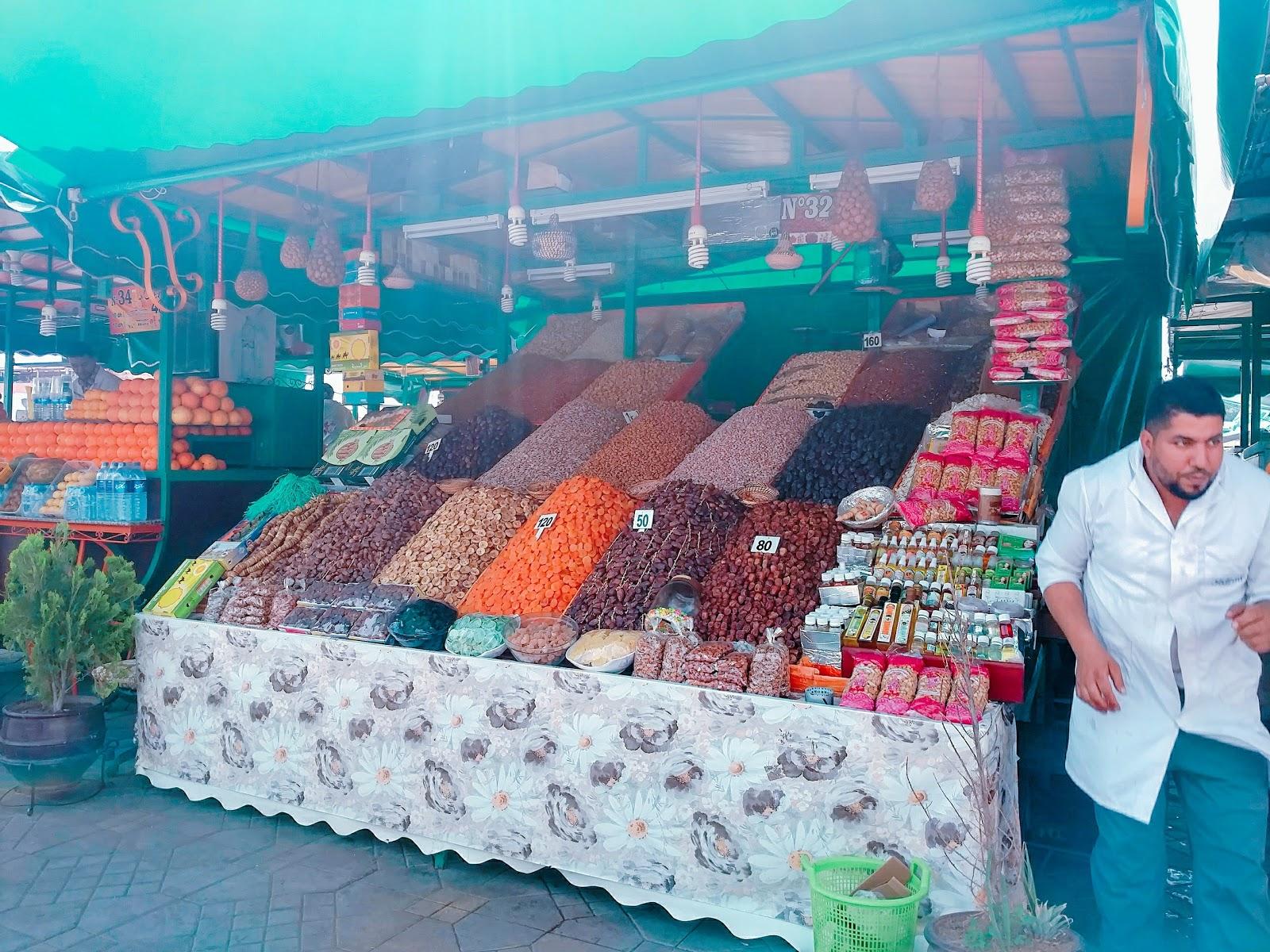 Marrakech street stall