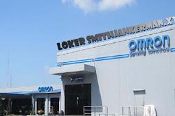 Loker PT Omron Manufacturing Januari 2019