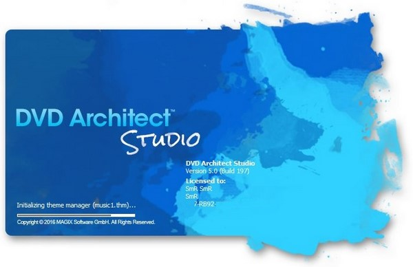 MAGIX DVD Architect Studio 5.0 Build 197 poster box cover