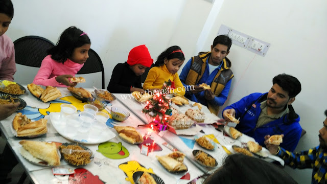 RAAH NGO NEW YEAR CELEBRATION Raah had also Organized the New Year party so that. the RAAH NGO Students Could have eat Different Type of Tasty Food fun and Enjoy Different fun Activities. Students Decorated Christmas Tree and Raah NGO had given Gifts Students with Bright  Future Bless. Like and Subscribe JOIN US & SUPPORT US