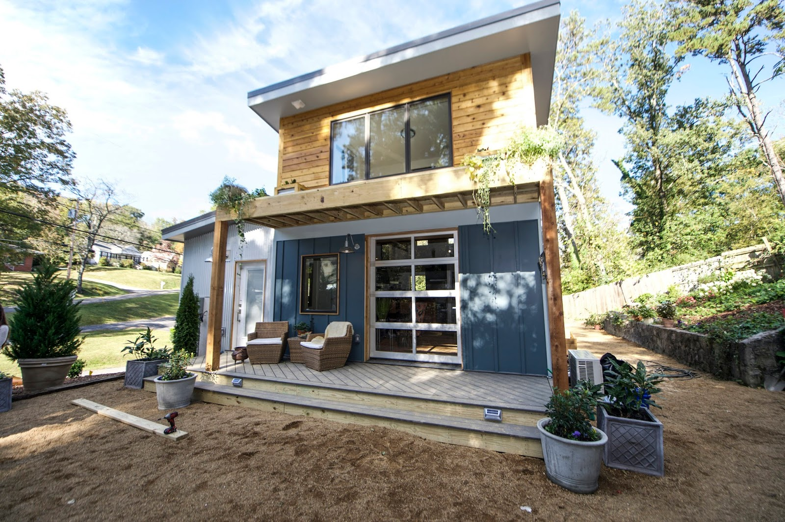 Tiny Home Designs: The Little Living Blog: The Urban Micro Home
