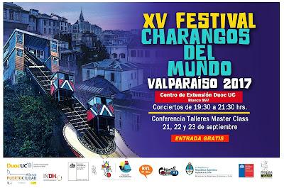 afiche festival charangos del mundo