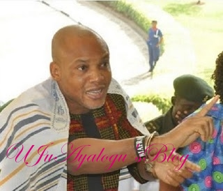 JUST IN: Soldiers 'surround' Nnamdi Kanu's home, 'vandalise' Abia NUJ office