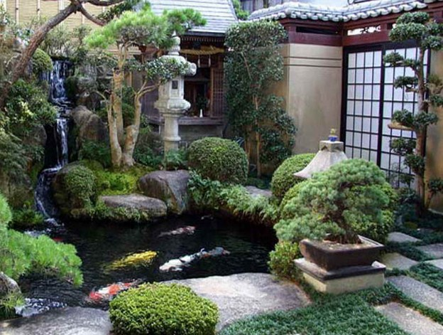 Japanese Garden Design With Nuance