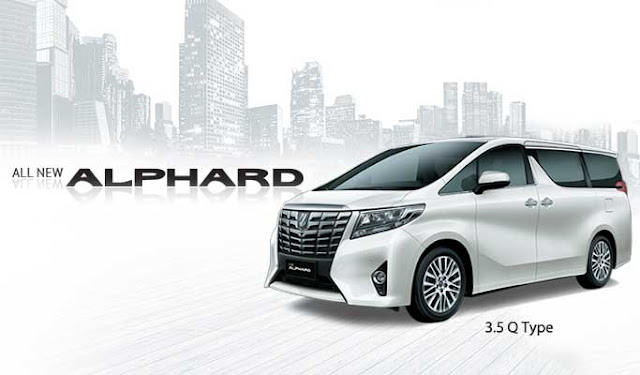 Spesifikasi Harga Kredit & Cicilan Toyota Alphard Surabaya
