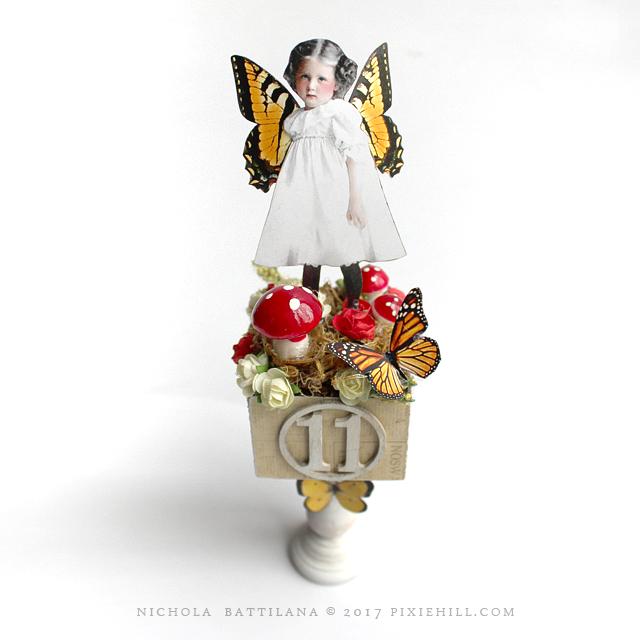Petal Stool Fairies - Nichola Battilana