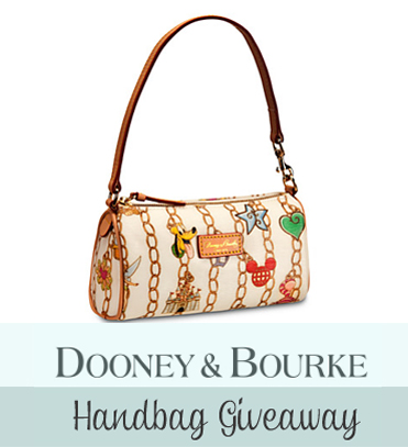 Dooney & Bourke Disney Parks Charms Barrel Bag Giveaway