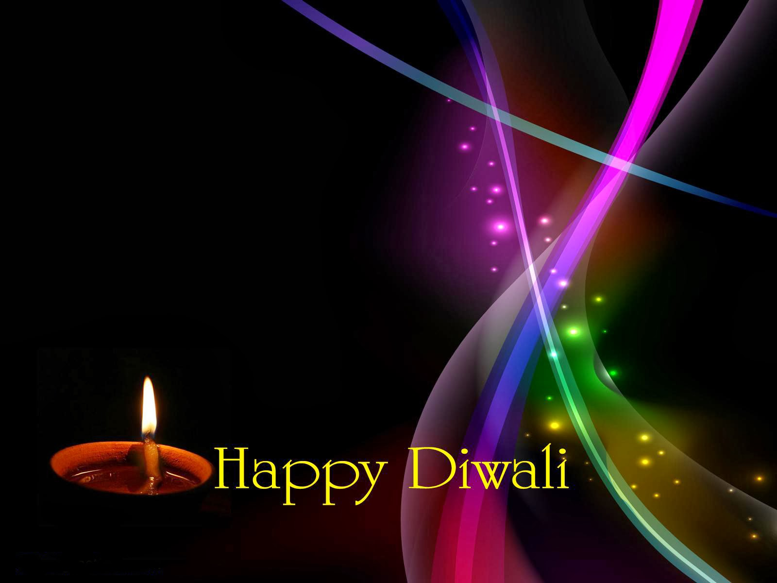 Diwali Single Diya Wallpaper