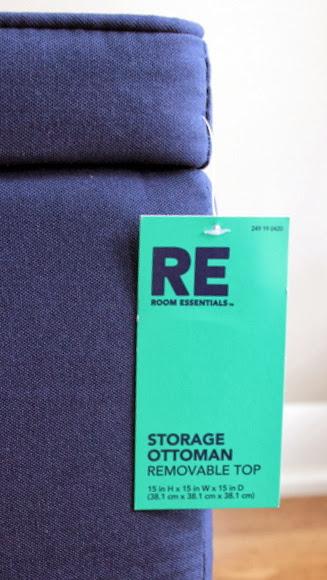 Target storage ottoman