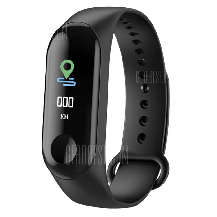 M3C 0.96 inch Smart Bluetooth Bracelet Sports Smartwatch Coupon