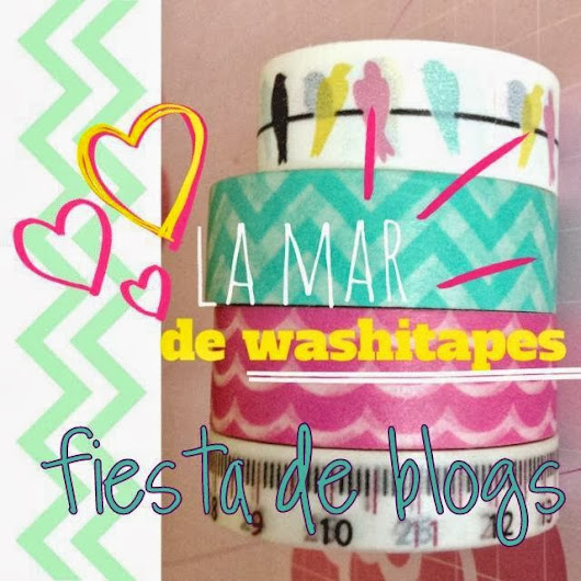II Fiesta de Blogs con washi tape