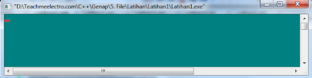 Running program file Membuka dan menutup file teks