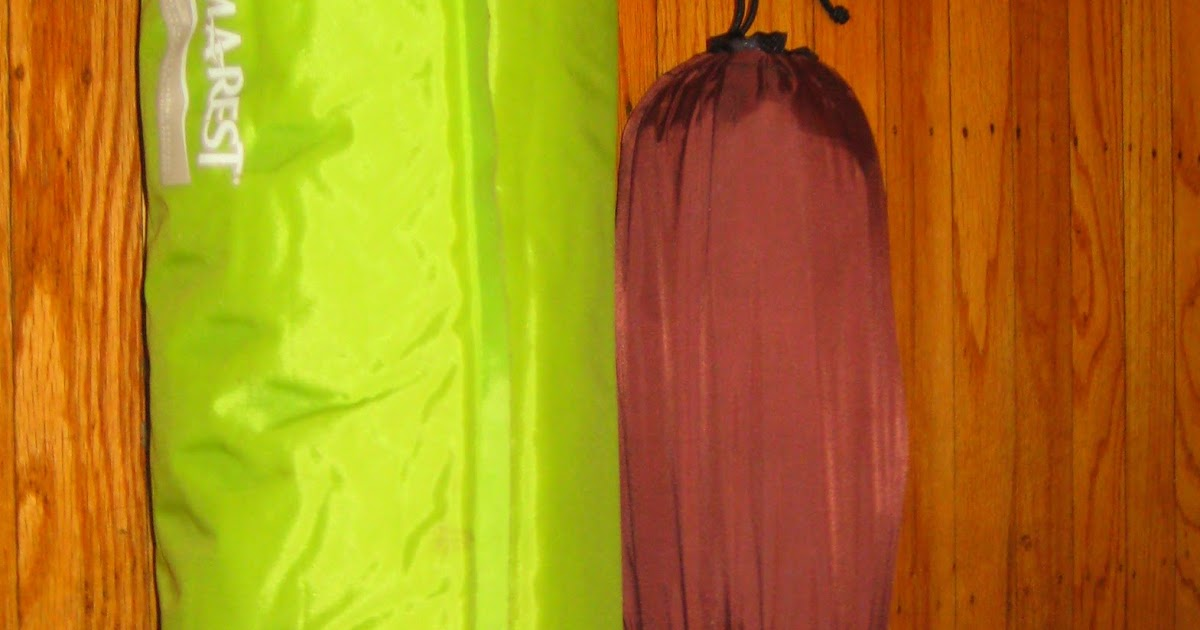 Gear Review Big Anges Air Core Sleeping Pad And Therm A