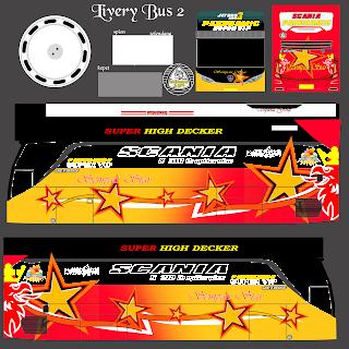 Download Livery Es Bus Id Po. Sempati star