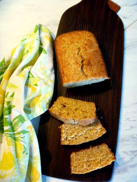 Slice Of Southern Brown Sugar Sour Cream Banana Bread