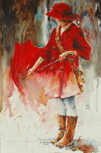 The Watercolour Log Bev Jozwiak