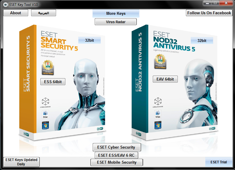 Top Five Eset Smart Security 5 Free Download Full Version 32