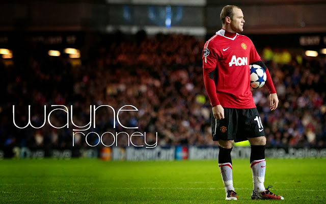 Wallpaper Wayne Rooney 2014 HD