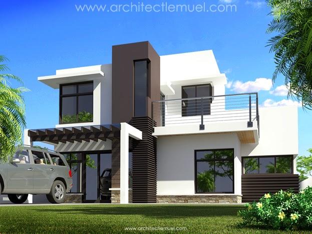 Model Rumah Minimalis 2 Lantai Mewah Dan Modern 2017
