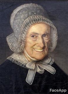 portrait Elizabeth Poirier FaceApp
