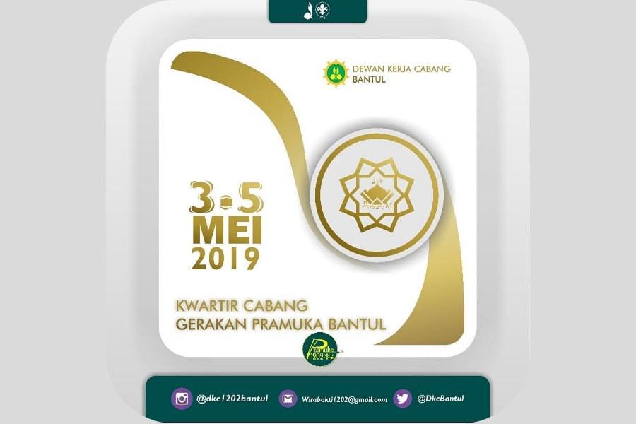Perkemahan Sambut Romadhon 2019 Kwarcab Bantul