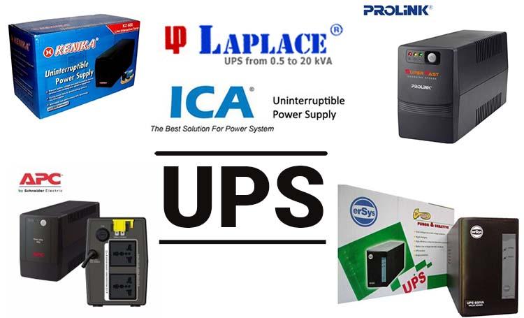 Merk-merk UPS Berkualitas Yang Banyak Dijual