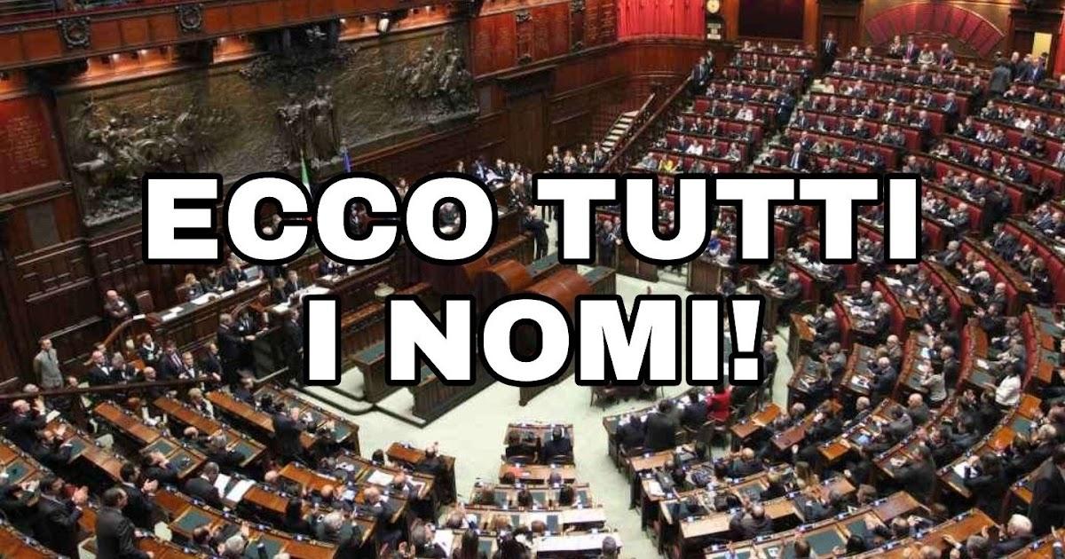 L 39 attivista a 5 stelle vitalizi ecco l 39 elenco degli ex for Elenco deputati italiani
